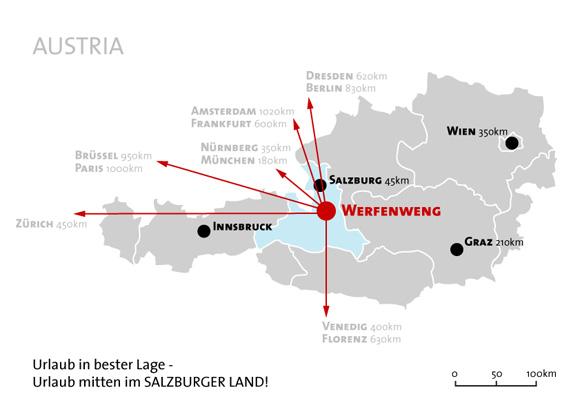 Plan Salzburg Werfenweng